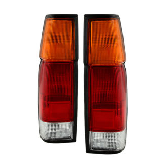 ALT-JH-NP86-OE-RC ( OE ) Nissan Hardbody Pickup/D21 1986-1997 Tail Lights - OEM