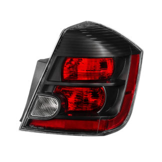ALT-JH-NS07-OE-BK-R ( xTune ) Nissan Sentra 2.5L SE-R & Spec-V Only 2007-2009 Passenger Side Tail Lights -OEM Right