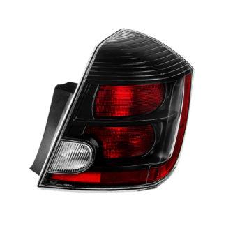 ALT-JH-NS10-OE-BK-R ( xTune ) Nissan Sentra SR/SE-R/Spec-V Only 2010-2012 Passenger Side Tail Lights -OEM Right