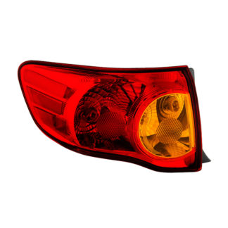 ALT-JH-TCO09-OE-OL ( OE ) Toyota Corolla 2009-2010 Driver Side Outer Tail Lights -OEM Left