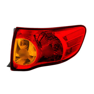 ALT-JH-TCO09-OE-OR ( OE ) Toyota Corolla 2009-2010 Passenger Side Outer Tail Lights -OEM Right
