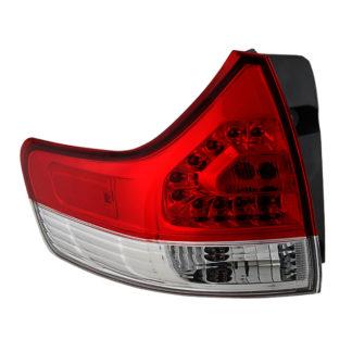ALT-JH-TSIE11-OE-OL ( OE ) Toyota Sienna 11-13 (excluding SE Models )Driver Side Outer Tail Lights  -OEM Left
