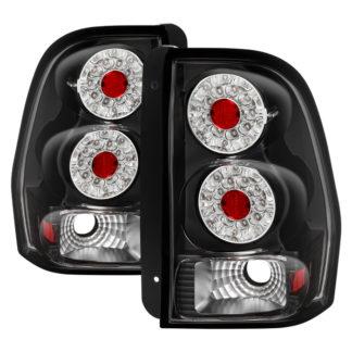 ALT-ON-CTB02-LED-BK ( xTune ) Chevy TrailBlazer 02-09 LED Tail Lights - Black