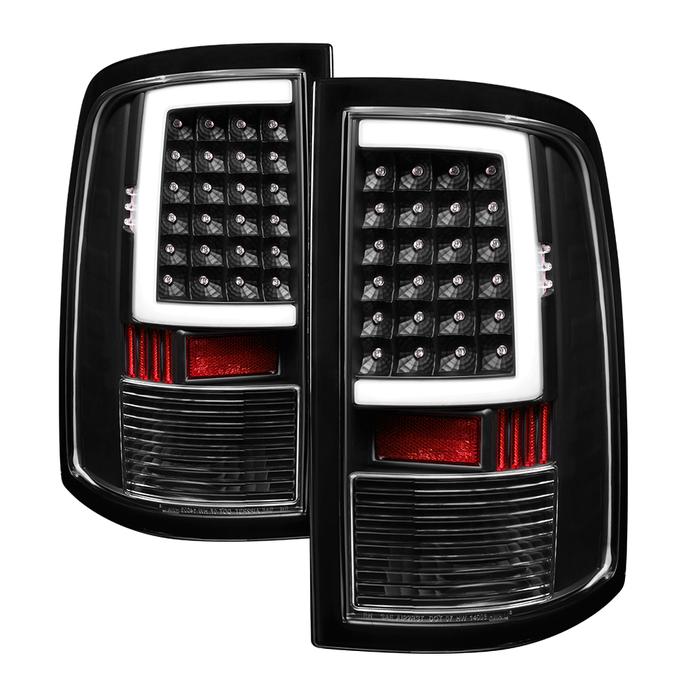 Alt On Dr09 Lbled Bk Xtune Dodge Ram 1500 09