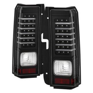 ALT-ON-HH306-LED-BK ( xTune ) Hummer H3 06-09 ( Non H3T ) LED Tail Lights - Black