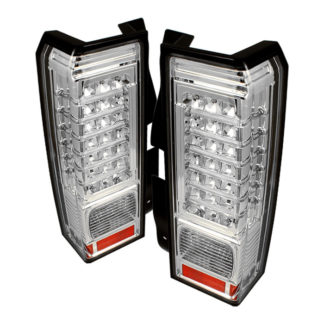 ALT-ON-HH306-LED-C ( xTune ) Hummer H3 06-09 ( Non H3T ) LED Tail Lights - Chrome