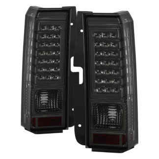 ALT-ON-HH306-LED-SM ( xTune ) Hummer H3 06-09 ( Non H3T ) LED Tail Lights - Smoke