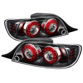 ALT-ON-MRX804-LED-BK ( xTune ) Mazda RX-8 04-08 LED Tail Lights - Black