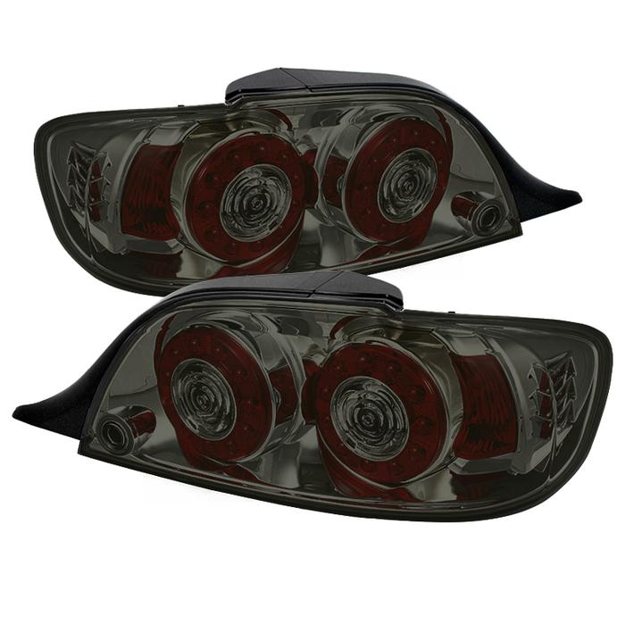 ALT-ON-MRX804-LED-SM ( xTune ) Mazda RX-8 04-08 LED Tail Lights - Smoke