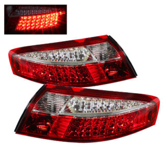 ALT-ON-P99699-LED-RC ( xTune ) Porsche 911 996 ( Non 4S. Turbo. GT3 ) 99-04 LED Tail Lights - Red Clear