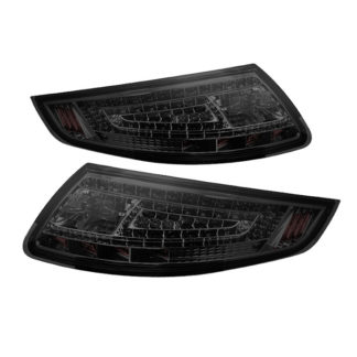 ALT-ON-P99705-LED-SM ( xTune ) Porsche 911 997 05-08 LED Tail Lights - Smoke