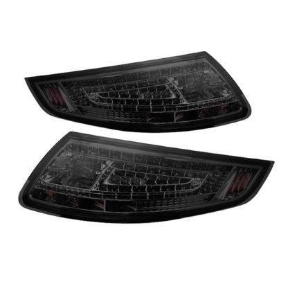 ALT-ON-P99705-LED-SM ( xTune ) Porsche 911 997 05-08 LED Tail Lights - Smoke