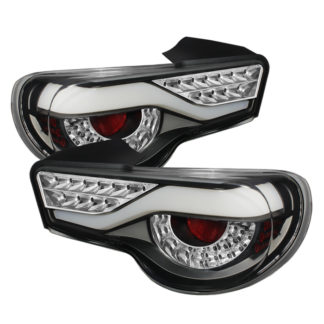 ALT-ON-SFRS12-LED-BK ( xTune ) Scion FRS 12-16 / Subaru BRZ 12-16 Light Bar LED Tail Lights - Black