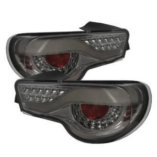 ALT-ON-SFRS12-LED-SM ( xTune ) Scion FRS 12-16 / Subaru BRZ 12-16 Light Bar LED Tail Lights - Smoke