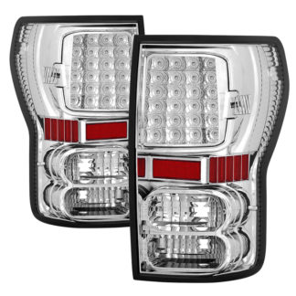 ALT-ON-TTU07-LED-C ( xTune ) Toyota Tundra 07-13 LED Tail lights - Chrome