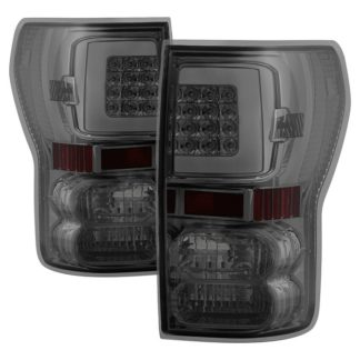 ALT-ON-TTU07V2-LBLED-SM ( xTune ) Toyota Tundra 07-13 Light Bar LED Tail lights - Smoke