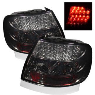 ( Spyder ) Audi A4 96-01 LED Tail Lights - Smoke