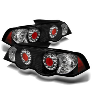 ( Spyder ) Acura RSX 02-04 LED Tail Lights - Black