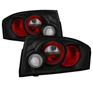 ( Spyder ) Audi TT 00-06 Euro Style Tail Lights - Black