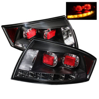 ( Spyder ) Audi TT 00-06 LED Tail Lights - Black