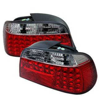 ( Spyder ) BMW E38 7-Series 95-01 LED Tail Lights - Red Clear
