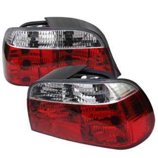 ( Spyder ) BMW E38 7-Series 95-01 Crystal Tail Lights - Red Clear