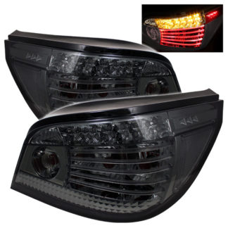 ( Spyder ) BMW E60 5-Series 04-07 LED Tail Lights - Smoke