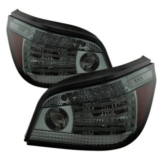 ( Spyder ) BMW E60 5-Series 08-10 LED Tail Lights - Smoke