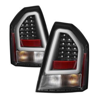 ( Spyder ) Chrysler 300C 05-07 Version 2 Light Bar LED Tail Lights - Black