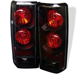 ( Spyder ) Chevy Astro / Safari 85-05 Euro Style Tail Lights - Black
