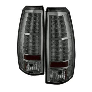 ( Spyder ) Chevy Avalanche 07-13 LED Tail Lights - Smoke