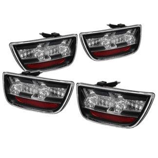 ( Spyder ) Chevy Camaro 10-13 LED Tail Lights - Black