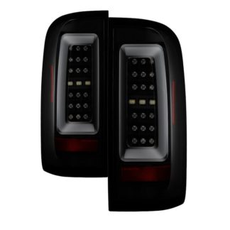 ( Spyder ) Chevy Colorado 2015-2017 LED Tail Lights - Black Smoke
