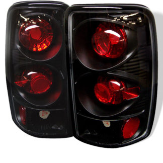 ( Spyder ) Chevy Suburban/Tahoe 1500/2500 00-06 / GMC Yukon/Yukon XL 00-06 / GMC Yukon Denali/Denali XL 01-06 ( Lift Gate Style Only ) Euro Style Tail Lights - Black