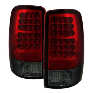 ( Spyder ) Chevy Suburban/Tahoe 1500/2500 00-06 / GMC Yukon/Yukon XL 00-06 / GMC Yukon Denali/Denali XL 01-06 ( Lift Gate Style Only ) LED Tail Lights - Red Smoke