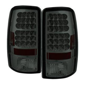 ( Spyder ) Chevy Suburban/Tahoe 1500/2500 00-06 / GMC Yukon/Yukon XL 00-06 / GMC Yukon Denali/Denali XL 01-06 ( Lift Gate Style Only ) LED Tail Lights - Smoke