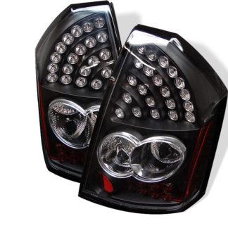 ( Spyder ) Chrysler 300 05-07 LED Tail Lights - Black