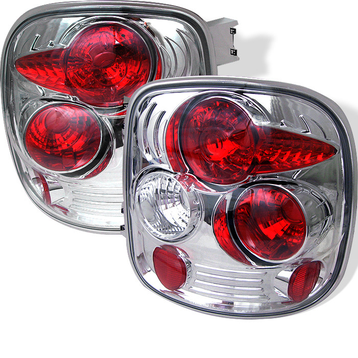 Tail Lights For 99-02 Silverado Stepside Smoked Pro Headlights R//C 3rd LED