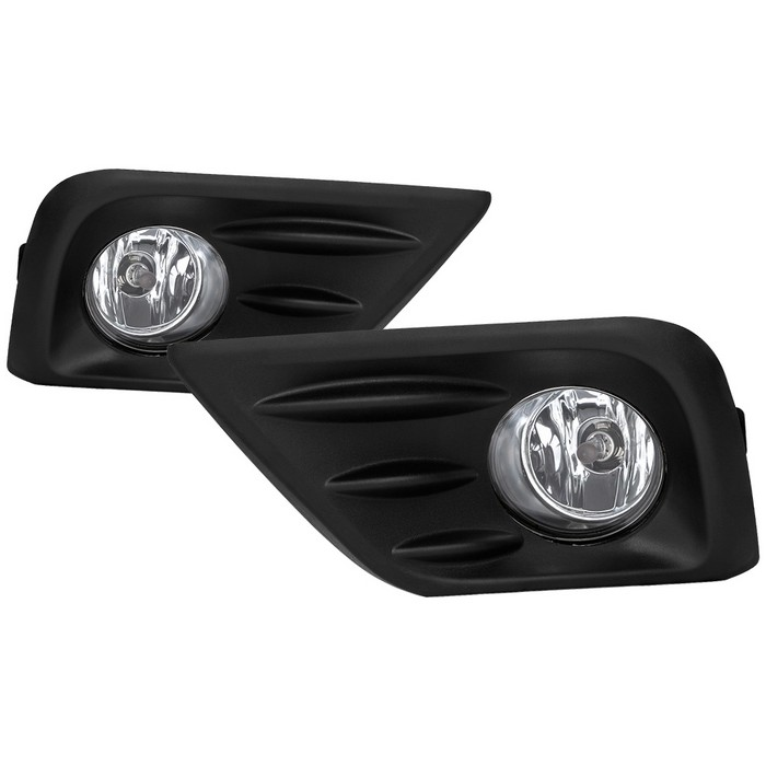 Spyder Fog Lights W//Cover and Switch Clear Fits Nissan Rogue 2008-2013