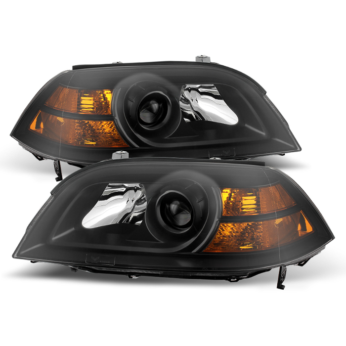 ( xTune ) Acura MDX 2004-2006 Crystal Headlights - Black