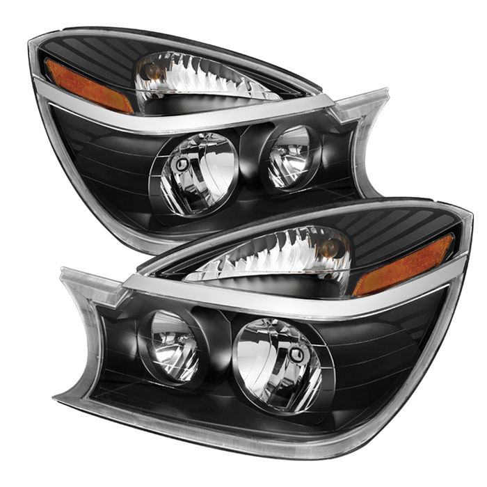 ( xTune ) Buick Rendezvous 02-07 Crystal Headlights - Black