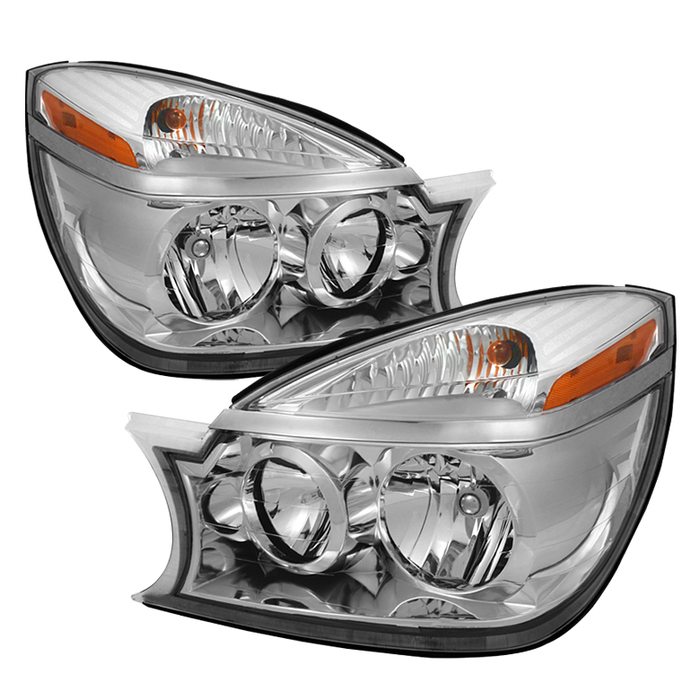 ( OE ) Buick Rendezvous 02-07 Crystal Headlights - Chrome
