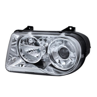 ( OE ) Chrysler 300C with Halogen Projection Style only 05-10 (Does Not Fit 300 or SRT-8 Models that use either Non Projection Halogen or HID Xenon Version) Headlights - Left