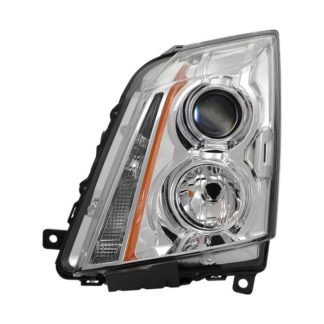 ( OE ) Cadillac CTS 08-12 / CTS-V 09-12 Halogen Only ( Don't fit HID Model ) Driver Side Headlight -OEM Left