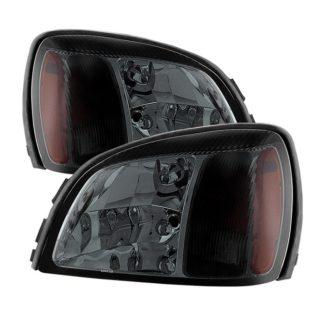 ( xTune ) Cadillac Deville 2000-2005 Crystal headlights - Smoke