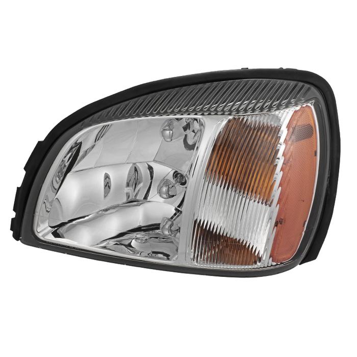 ( OE ) Cadillac Deville 2000-2003 Crystal headlights - Left
