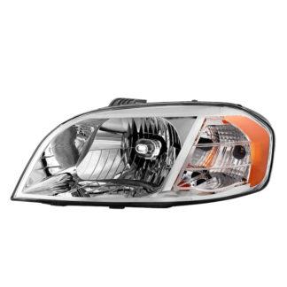( OE ) Chevy Aveo 07-11 Notchback Model Only ( Don't fit Hatchback Models ) / Pontiac G3 2009 Notchback Models / Pontiac Wave 07-09 Notchback Models Driver Side Headlight -OEM Left