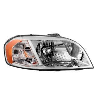 ( OE ) Chevy Aveo 07-11 Notchback Model Only ( Don't fit Hatchback Models ) / Pontiac G3 2009 Notchback Models / Pontiac Wave 07-09 Notchback Models Passenger Side Headlight -OEM Right