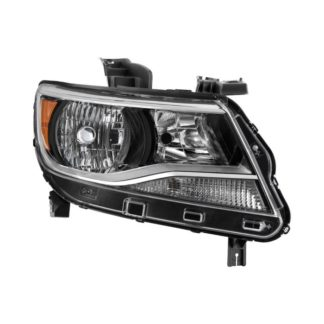 ( POE ) Chevy Colorado 2015-2017 Halogen Models Only ( Don't fit Xenon HID and Projector Models )  Passenger Side Headlight -OEM Right