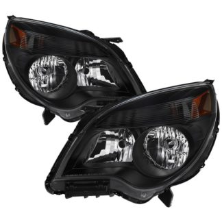 ( xTune ) 2010-2015 Chevy Equinox LS and LT models only ( don't fit LTZ Models ) OEM Style Headlights -Black